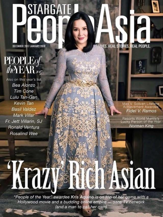 Nữ diễn viên siêu giàu đóng phim về giới siêu giàu châu Á là ai? - Ảnh 1.