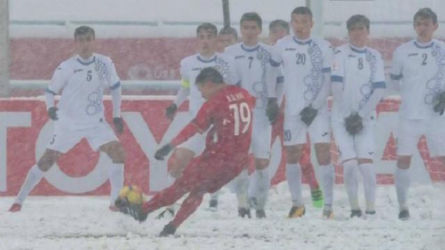 U23 Việt Nam - U23 Uzbekistan: Hoài niệm cơn bão tuyết ở Thường Châu - Ảnh 1.
