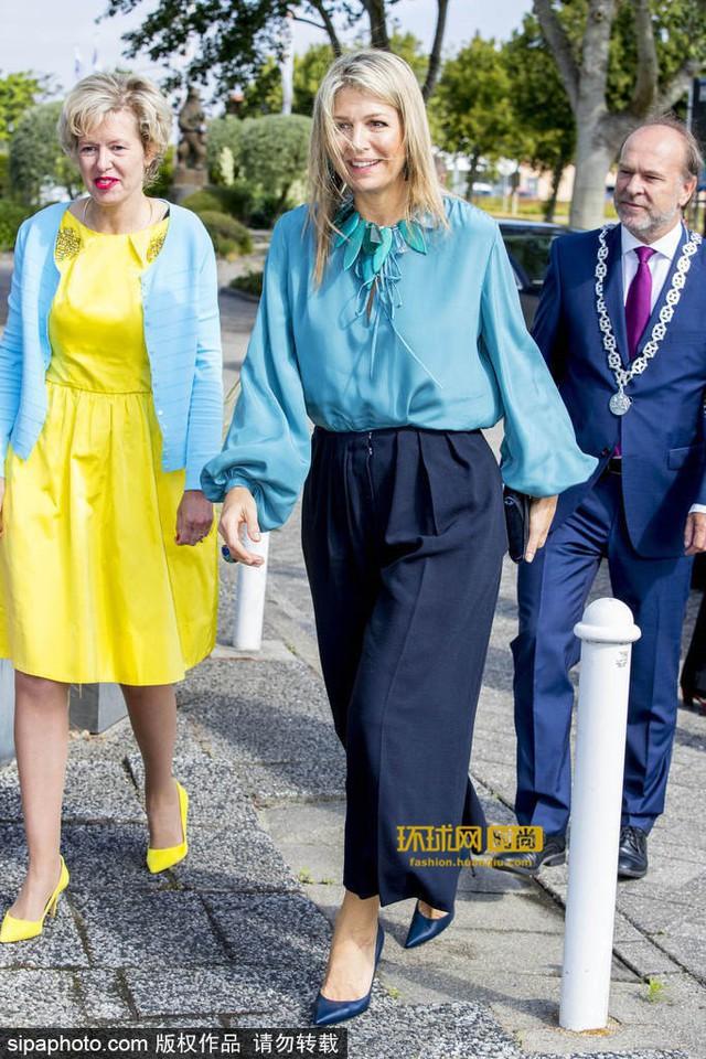 Tại Hoàng gia Hà Lan, cũng có một vị Hoàng hậu chuyên mặc đồ sặc sỡ cạnh tranh với Nữ hoàng Anh - Ảnh 9.