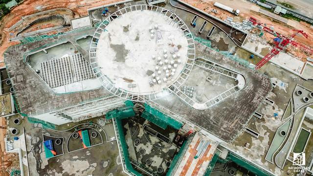Cận cảnh tiến độ xây dựng dự án bệnh viện 5.800 tỷ đồng, hiện đại bậc nhất tại khu Đông (Tp.HCM) - Ảnh 7.