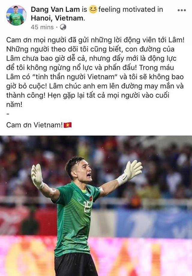 Đặng Văn Lâm: Trong máu Lâm có tinh thần người Việt Nam - Ảnh 2.