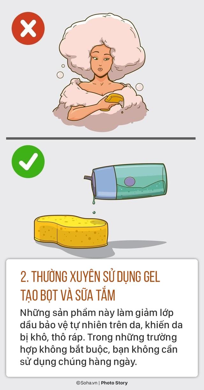 Sửa ngay 5 thói quen tắm sai lầm gây hại sức khoẻ mà nhiều người có thể đang làm mỗi ngày - Ảnh 2.