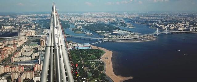 Ảnh: Chóng mặt với tòa tháp cao nhất châu Âu sắp hoàn thành tại Nga - Ảnh 11.