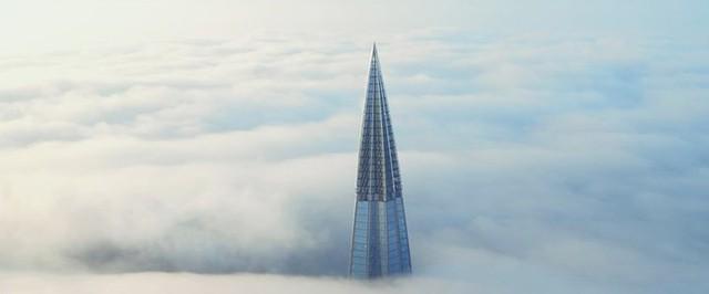 Ảnh: Chóng mặt với tòa tháp cao nhất châu Âu sắp hoàn thành tại Nga - Ảnh 13.