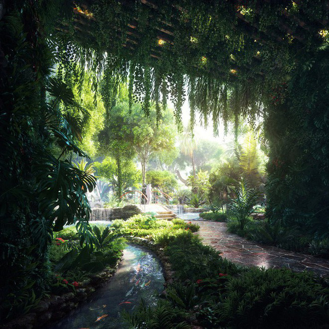 Dubai chi 12.800 tỷ để xây dựng khách sạn kết hợp rừng mưa nhiệt đới đầu tiên trên thế giới - Ảnh 4.