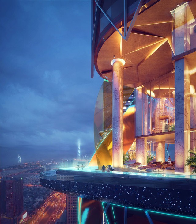 Dubai chi 12.800 tỷ để xây dựng khách sạn kết hợp rừng mưa nhiệt đới đầu tiên trên thế giới - Ảnh 6.