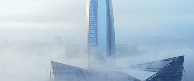 Ảnh: Chóng mặt với tòa tháp cao nhất châu Âu sắp hoàn thành tại Nga - Ảnh 7.