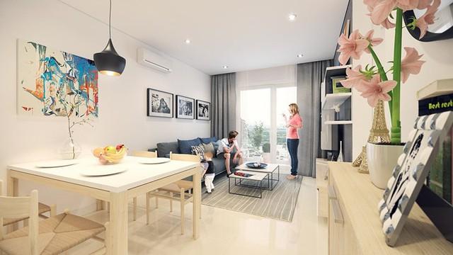 Căn hộ 66 m2 được thiết kế hợp lý cho gia đình 3 thành viên - Ảnh 5.