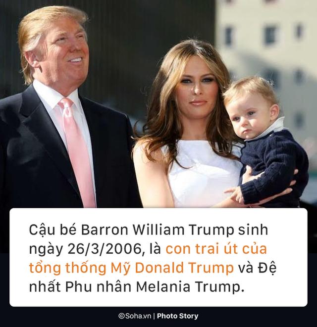 [PHOTO STORY] Con trai út của TT Trump: Thích vest, hay chơi golf, 12 tuổi cao gần 1,9m - Ảnh 1.