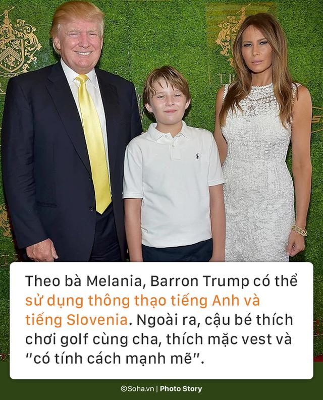 [PHOTO STORY] Con trai út của TT Trump: Thích vest, hay chơi golf, 12 tuổi cao gần 1,9m - Ảnh 2.