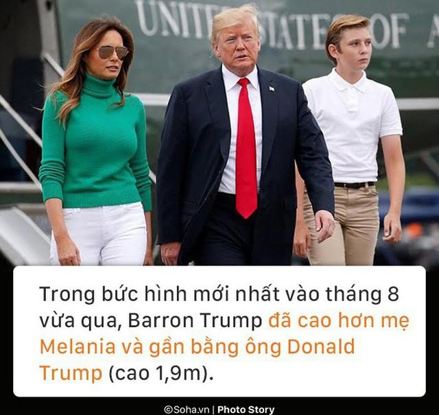 [PHOTO STORY] Con trai út của TT Trump: Thích vest, hay chơi golf, 12 tuổi cao gần 1,9m - Ảnh 5.