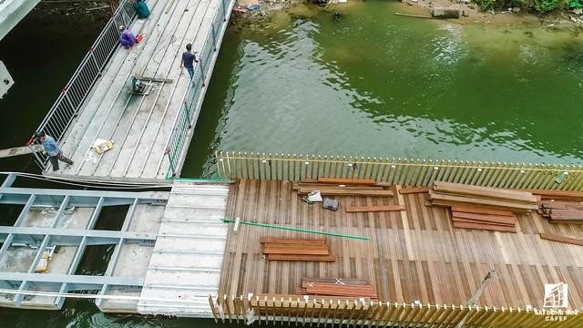 Toàn cảnh dự án cầu đi bộ siêu sang lát gỗ lim gần 53 tỷ đồng ở Huế - Ảnh 7.