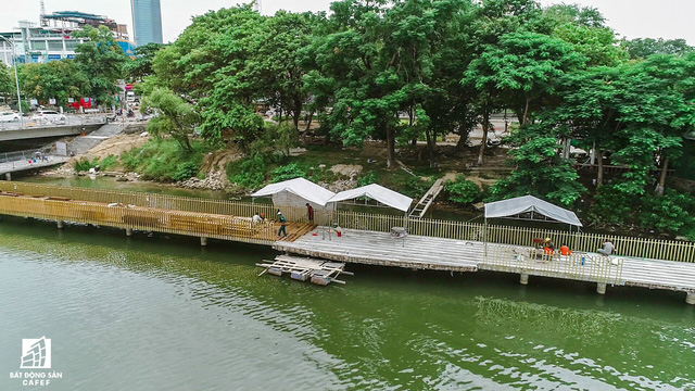 Toàn cảnh dự án cầu đi bộ siêu sang lát gỗ lim gần 53 tỷ đồng ở Huế - Ảnh 5.