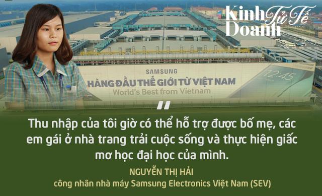 Giấc mơ đại học của một công nhân nhà máy Samsung Việt Nam - Ảnh 1.