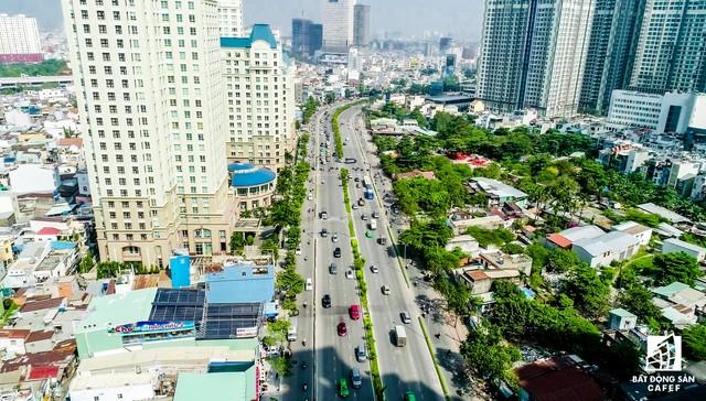 Cận cảnh cung đường tại trung tâm Tp.HCM sắp được đầu tư 500 tỷ đồng nâng cấp, giải quyết ngập úng - Ảnh 14.