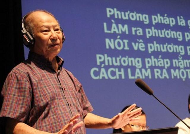Cựu giáo viên trường Thực Nghiệm nói về cách rèn luyện tư duy trong sách của GS Hồ Ngọc Đại - Ảnh 1.