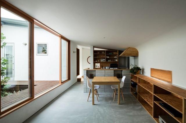 Học nhữngh thiết kế ngôi nhà cấp 4 tiện nghi của người Nhật - Ảnh 5.