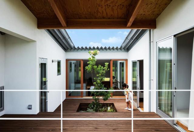 Học nhữngh thiết kế ngôi nhà cấp 4 tiện nghi của người Nhật - Ảnh 6.