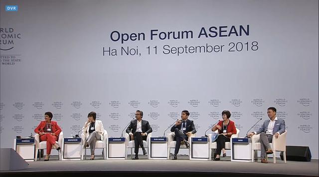 Bộ trưởng hotboy của Malaysia, chuyện khởi nghiệp của doanh nghiệp Việt và câu hỏi bất ngờ dành cho đại diện Google làm nóng phiên thảo luận đầu tiên của WEF ASEAN 2018 - Ảnh 1.