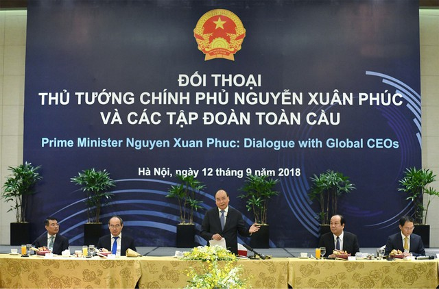 Điều đặc biệt tại cuộc gặp của Thủ tướng Nguyễn Xuân Phúc với 20 tập đoàn toàn cầu - Ảnh 1.