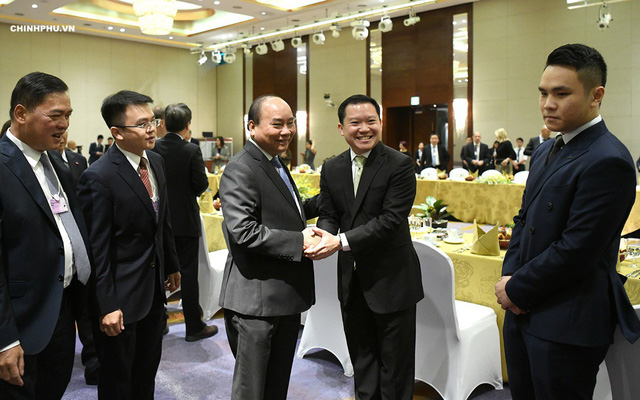 Điều đặc biệt tại cuộc gặp của Thủ tướng Nguyễn Xuân Phúc với 20 tập đoàn toàn cầu