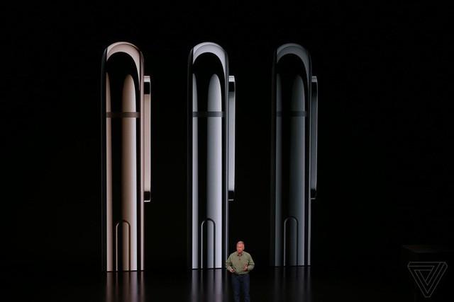 Apple ra mắt iPhone XS và iPhone XS Max: Hỗ trợ 2 SIM, chip A12 Bionic, bộ nhớ trong 512GB, chống nước IP68, thêm màu vàng, giá cao nhất 1449 USD - Ảnh 1.