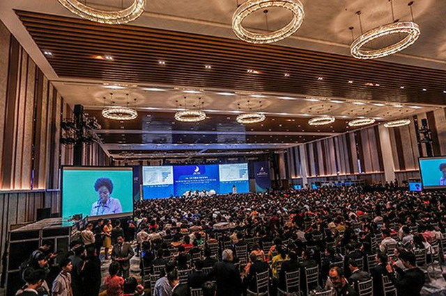 1.200 doanh nghiệp dự Hội nghị thượng đỉnh Kinh doanh VN 2018 - Ảnh 1.