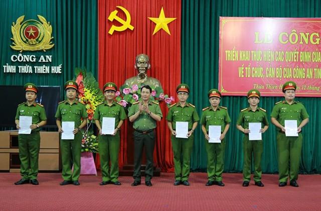 Bộ trưởng Công an bổ nhiệm nhân sự công an 3 tỉnh - Ảnh 1.