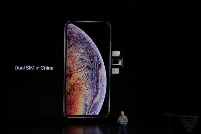 Apple ra mắt iPhone XS và iPhone XS Max: Hỗ trợ 2 SIM, chip A12 Bionic, bộ nhớ trong 512GB, chống nước IP68, thêm màu vàng, giá cao nhất 1449 USD - Ảnh 12.