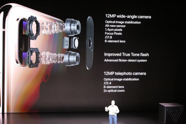 Apple ra mắt iPhone XS và iPhone XS Max: Hỗ trợ 2 SIM, chip A12 Bionic, bộ nhớ trong 512GB, chống nước IP68, thêm màu vàng, giá cao nhất 1449 USD - Ảnh 13.