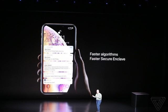 Apple ra mắt iPhone XS và iPhone XS Max: Hỗ trợ 2 SIM, chip A12 Bionic, bộ nhớ trong 512GB, chống nước IP68, thêm màu vàng, giá cao nhất 1449 USD - Ảnh 17.