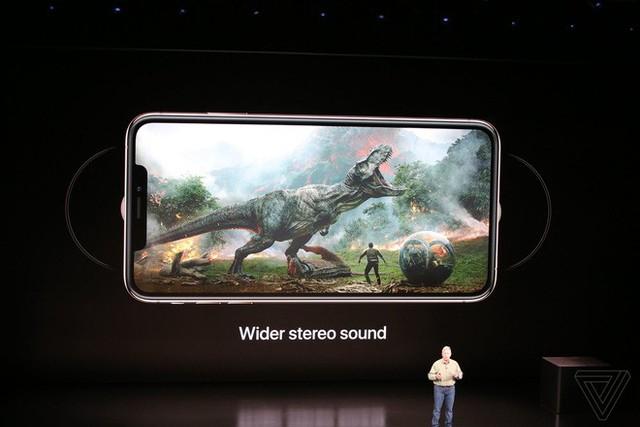 Apple ra mắt iPhone XS và iPhone XS Max: Hỗ trợ 2 SIM, chip A12 Bionic, bộ nhớ trong 512GB, chống nước IP68, thêm màu vàng, giá cao nhất 1449 USD - Ảnh 18.