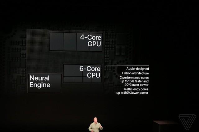 Apple ra mắt iPhone XS và iPhone XS Max: Hỗ trợ 2 SIM, chip A12 Bionic, bộ nhớ trong 512GB, chống nước IP68, thêm màu vàng, giá cao nhất 1449 USD - Ảnh 4.