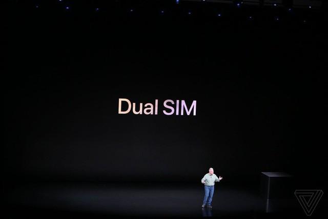 Apple ra mắt iPhone XS và iPhone XS Max: Hỗ trợ 2 SIM, chip A12 Bionic, bộ nhớ trong 512GB, chống nước IP68, thêm màu vàng, giá cao nhất 1449 USD - Ảnh 8.