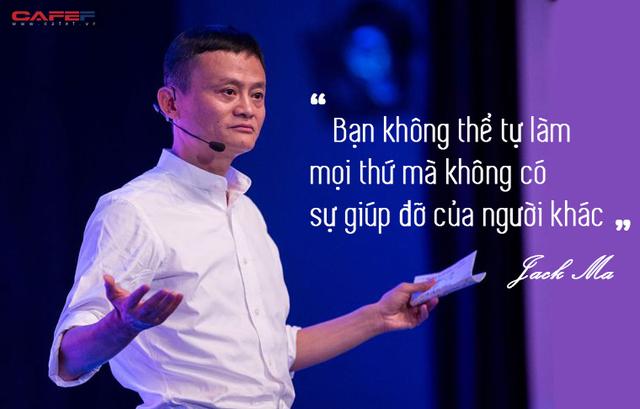 Ẩn sau đoạn thư từ chức của Jack Ma là bài học sâu sắc có thể khiến cuộc sống của bạn thay đổi bất ngờ: Không ai có thể làm mọi thứ mà không có sự giúp đỡ của người khác - Ảnh 1.