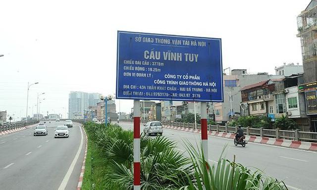 Có thể cấm cầu Vĩnh Tuy, Thanh Trì, Nhật Tân vì siêu bão Mangkhut? - Ảnh 1.