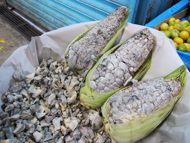 Ẩm thực lạ bốn phương: Đặc sản ngô mốc đen xì của người Mexico - Ảnh 2.