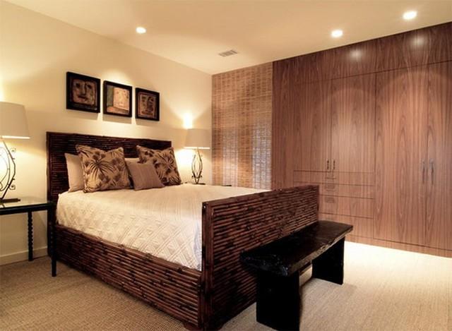 Thiết kế phòng ngủ với nội thất bằng gỗ ấm áp - Ảnh 2.