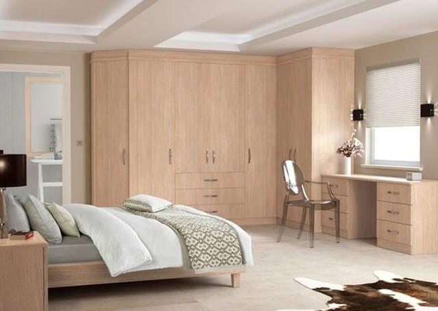 Thiết kế phòng ngủ với nội thất bằng gỗ ấm áp - Ảnh 14.