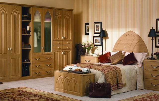 Thiết kế phòng ngủ có bên trong xe bằng gỗ ấm áp - Ảnh 15.