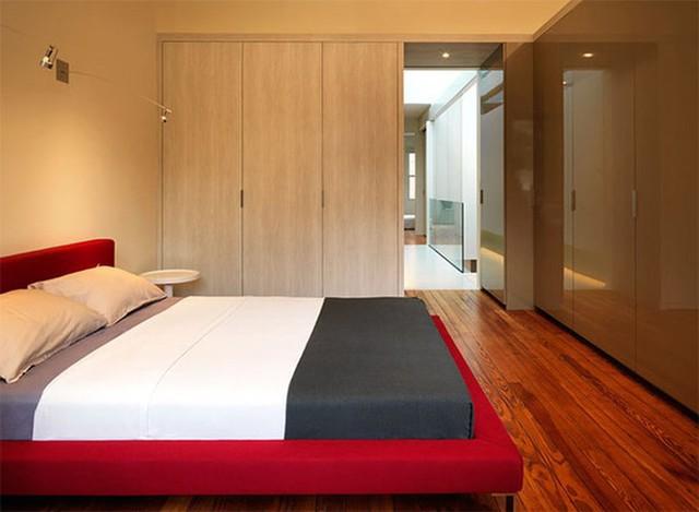 Thiết kế phòng ngủ có bên trong xe bằng gỗ ấm áp - Ảnh 3.