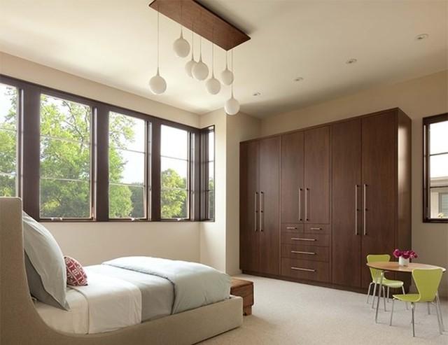 Thiết kế phòng ngủ với nội thất bằng gỗ ấm áp - Ảnh 5.