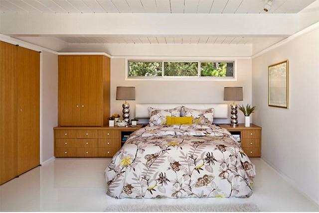 Thiết kế phòng ngủ với nội thất bằng gỗ ấm áp - Ảnh 6.