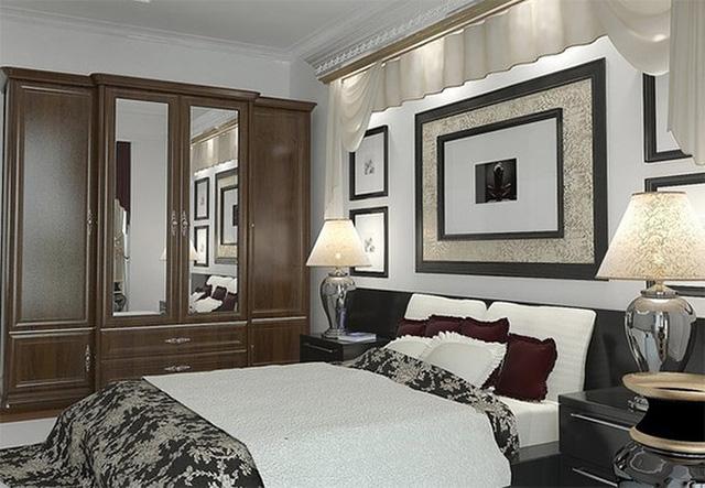 Thiết kế phòng ngủ với nội thất bằng gỗ ấm áp - Ảnh 7.