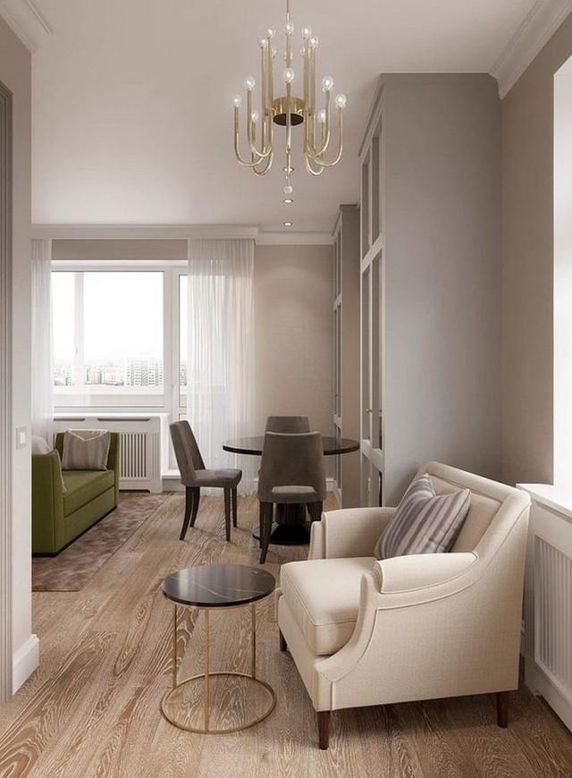 Cuộc sống tiện nghi và thoải mái trong căn hộ chỉ vẻn vẹn 31m2 - Ảnh 7.