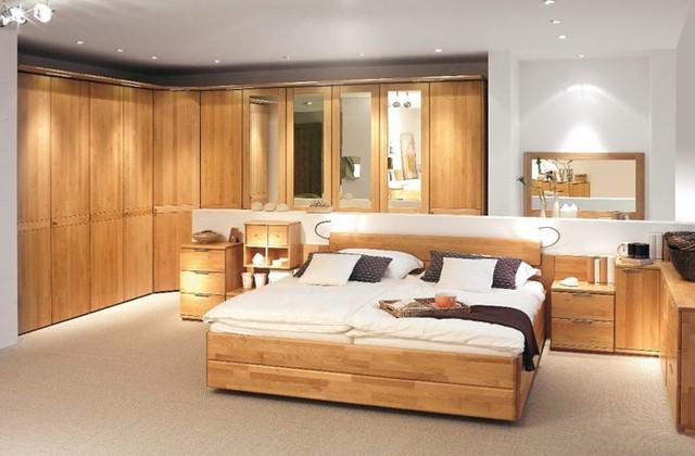 Thiết kế phòng ngủ với nội thất bằng gỗ ấm áp - Ảnh 9.