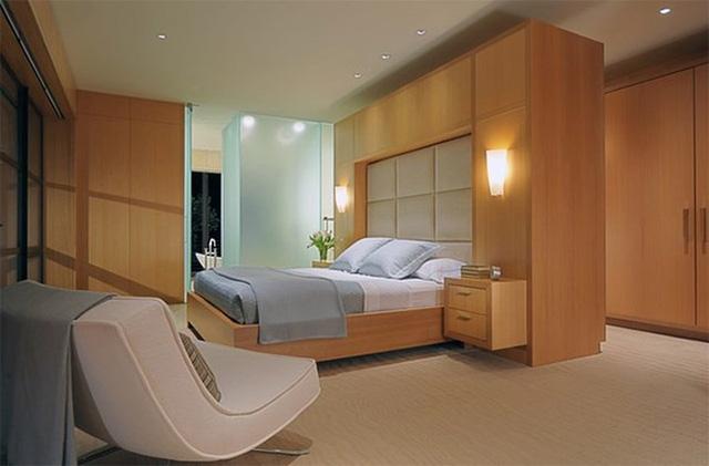 Thiết kế phòng ngủ với nội thất bằng gỗ ấm áp - Ảnh 10.
