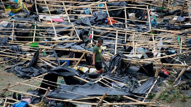 Số người chết vì bão Mangkhut ở Philippines tăng chóng mặt - Ảnh 2.