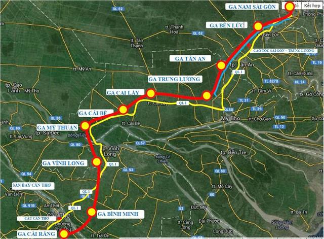 TP.HCM đề xuất đầu tư tuyến đường sắt TP.HCM - Cần Thơ 5 tỷ USD - Ảnh 1.
