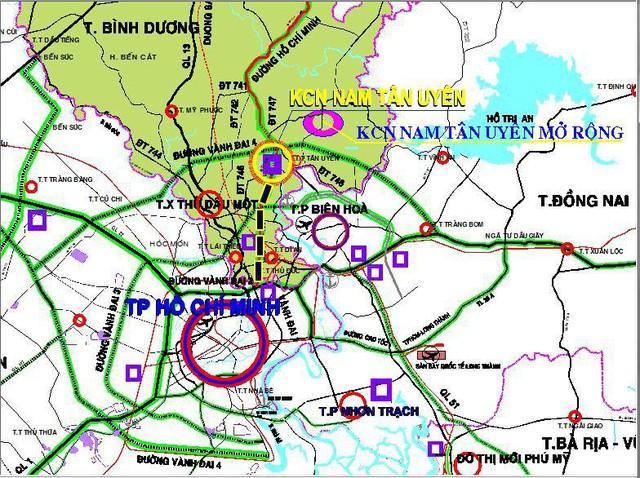 Rót 872 tỷ đồng mở rộng Khu công nghiệp Nam Tân Uyên - Ảnh 1.
